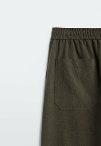 Massimo Dutti - Pantalon classique - khaki - 3