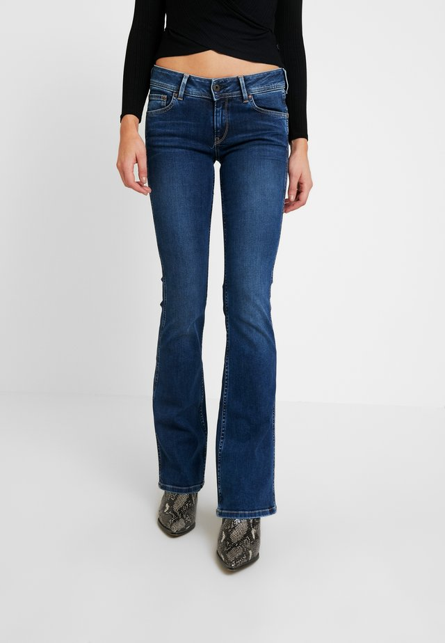NEW PIMLICO - Jeans a zampa - blue denim