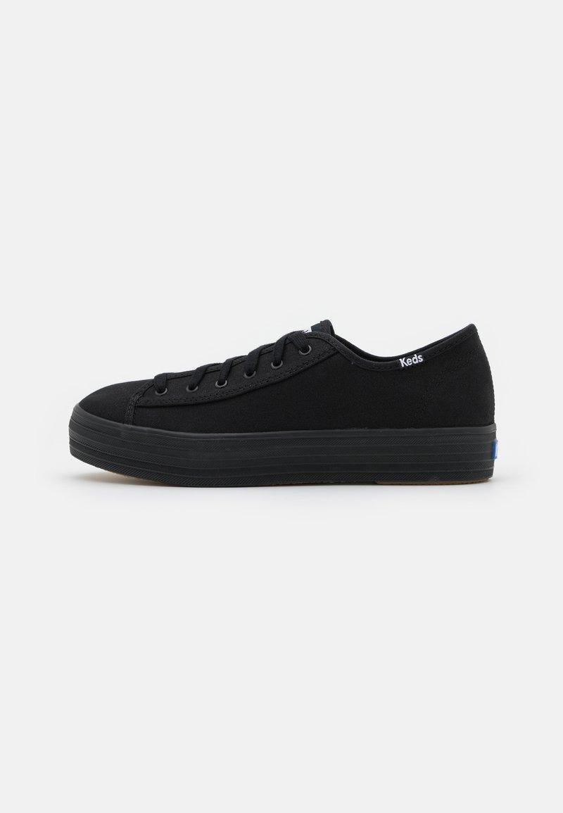 Keds - TRIPLE KICK - Sneakersy niskie - black