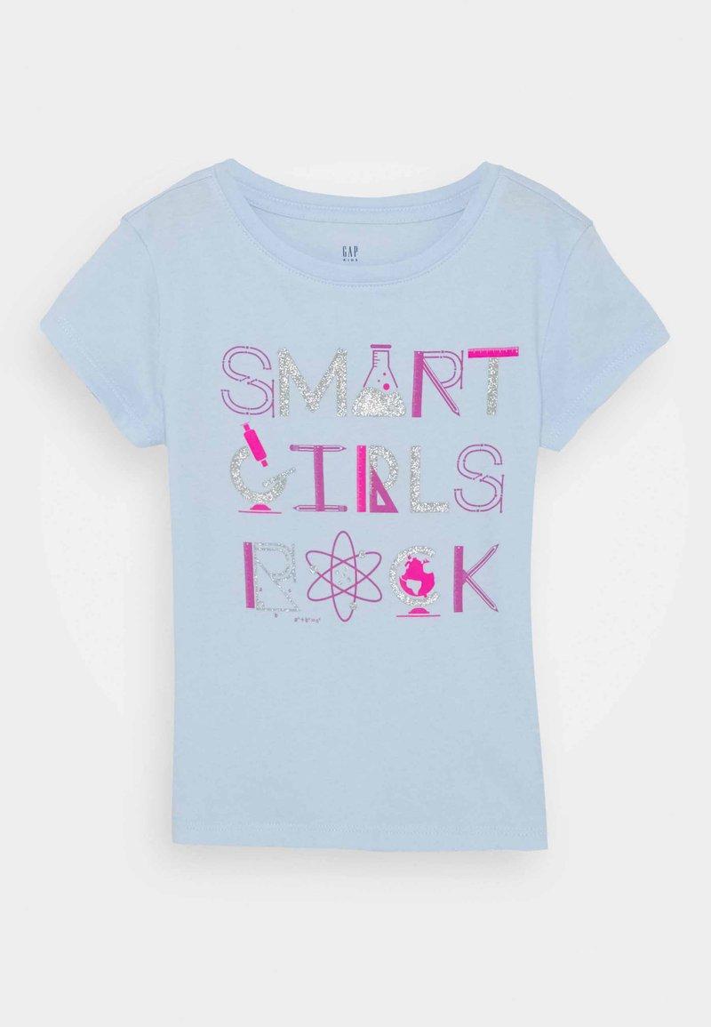 GAP - GIRLS - T-shirt print - pure blue