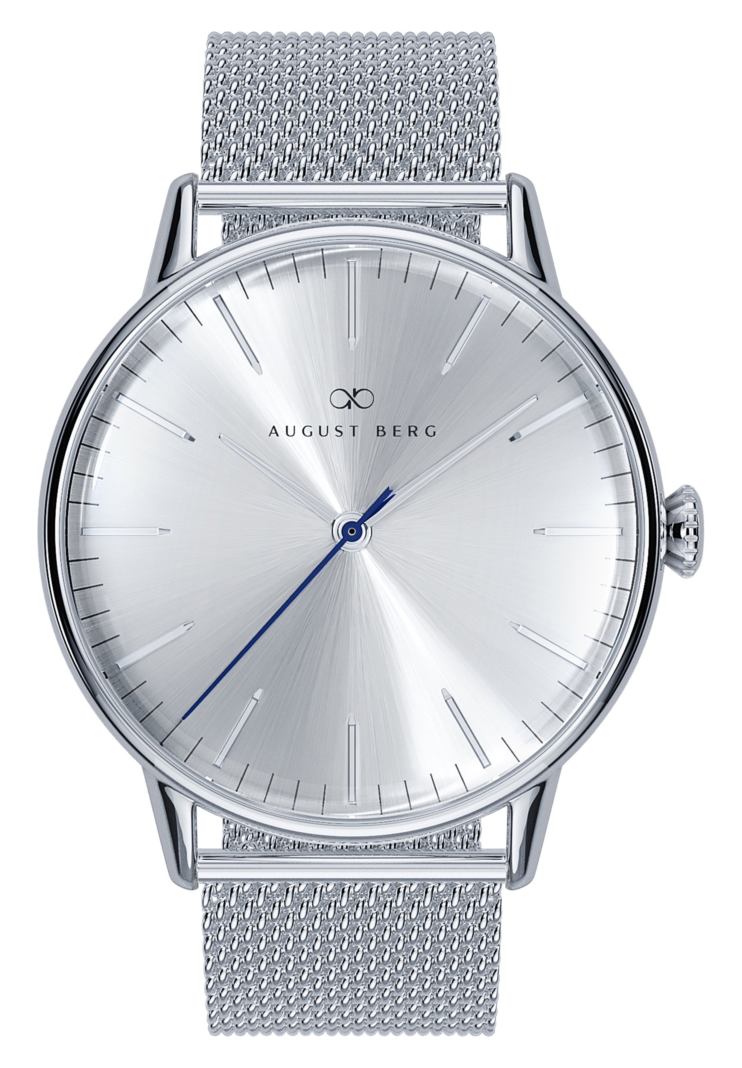 Homme UHR SERENITY SIMPLY SILVER SILVER MESH 40MM - Montre