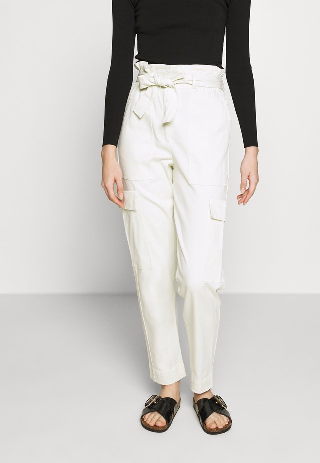 THE PAPERBAG TROUSER - Bukse - mineral