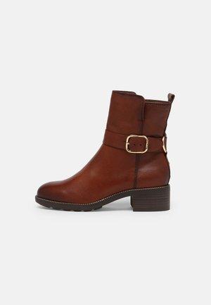 Korte laarzen - maroon