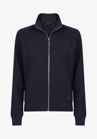 Basics and More - Zip-up sweatshirt - dark blue - 3