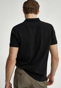 Massimo Dutti - SHORT SLEEVE - Polo shirt - black - 1