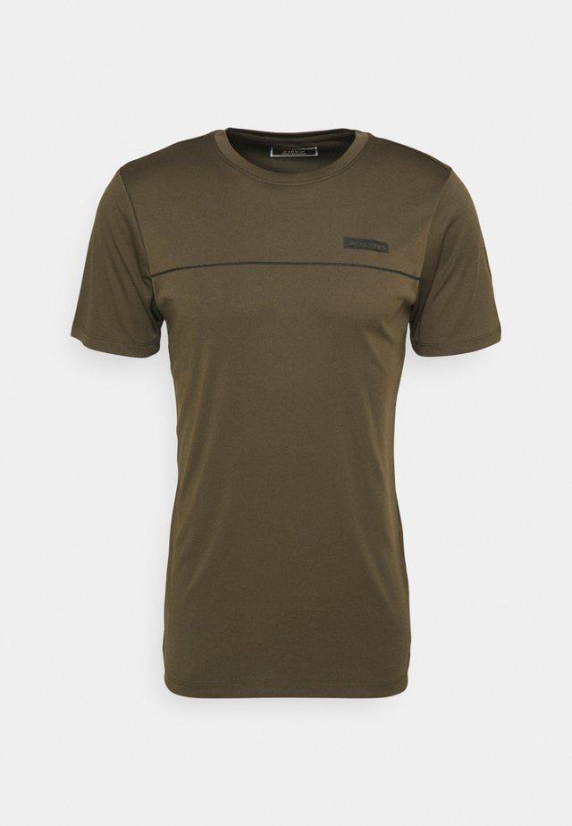 JCOZSS PERFORMANCE TEE 2 PACK - T-shirt print - black/forest night