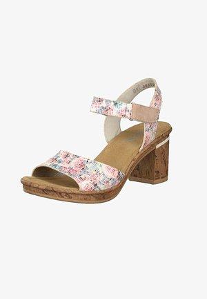 Sandals - nude multi