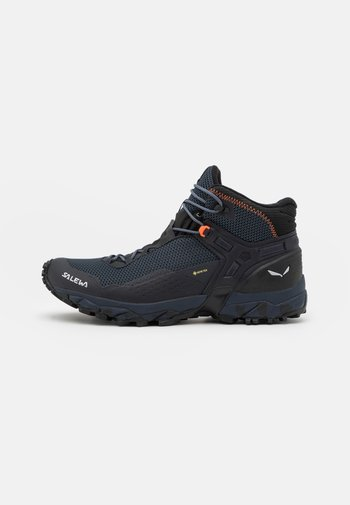 ULTRA FLEX 2 MID GTX - Chaussures de marche - black out/red orange