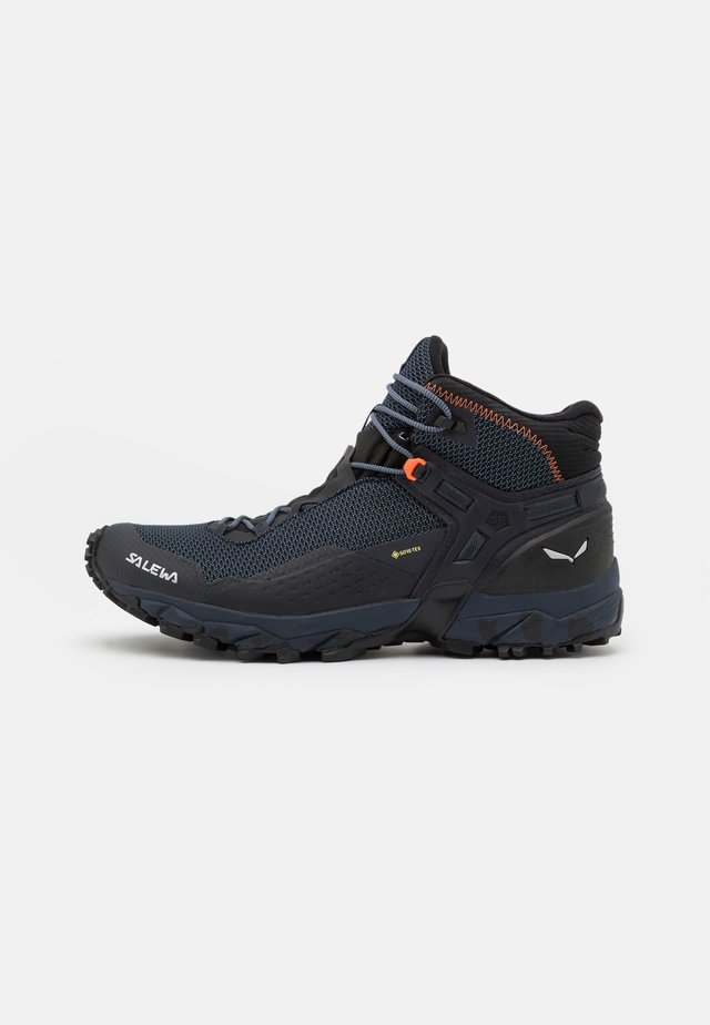 ULTRA FLEX 2 MID GTX - Outdoorschoenen - black out/red orange