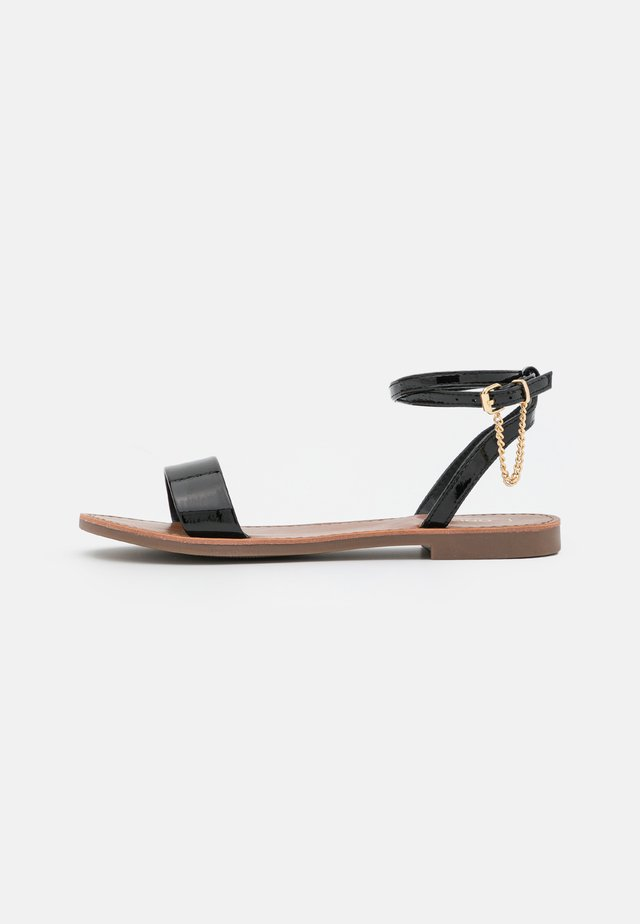 ONLMELLY CHAIN  - Sandalen - black