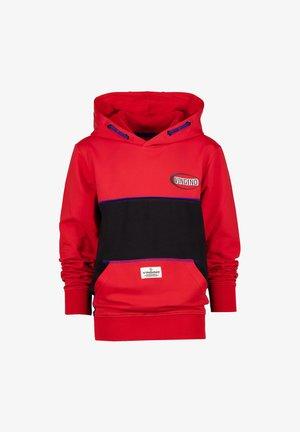 Sweater - heat red