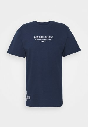 BANDANA TEE - Print T-shirt - navy