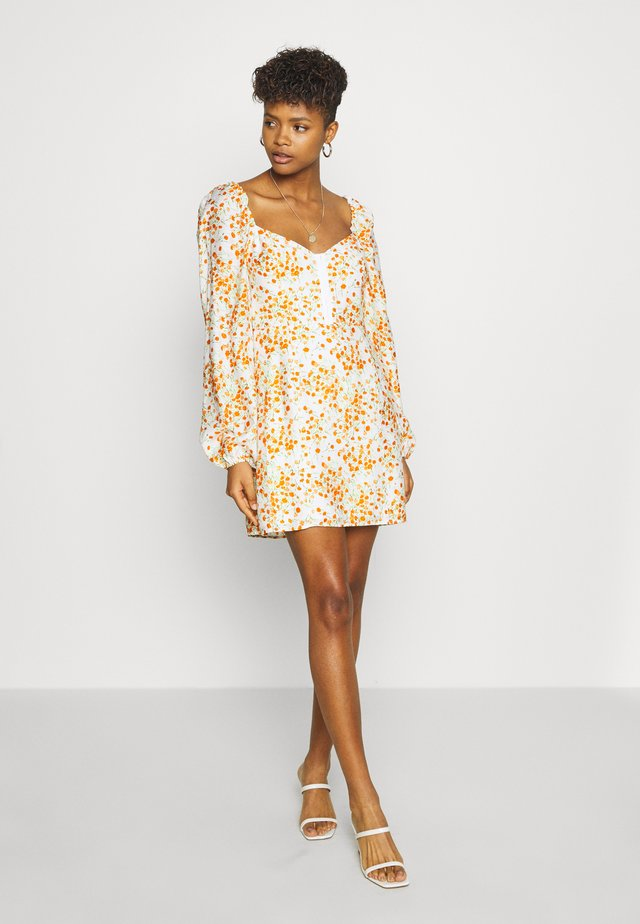 HOLLIE MINI DRESS - Kjole - off-white