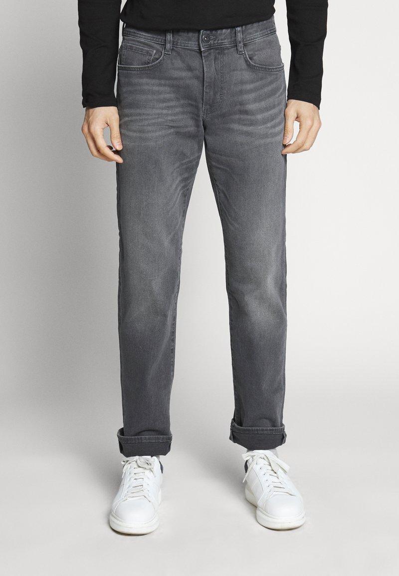 TOM TAILOR - MARVIN - Straight leg jeans - grey denim