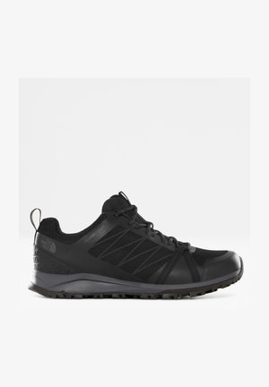 M LITEWAVE FASTPACK II WP - Sneakers - tnf black/ebony grey