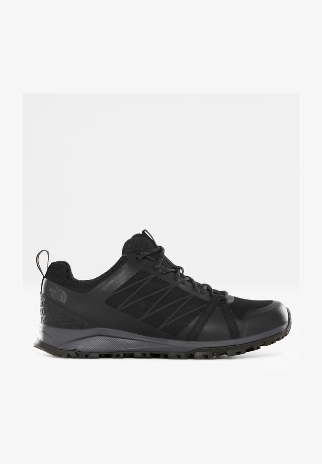 M LITEWAVE FASTPACK II WP - Sneaker low - tnf black/ebony grey
