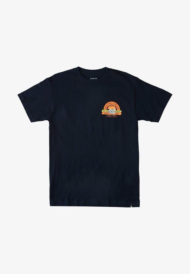 T-shirt print - dc navy
