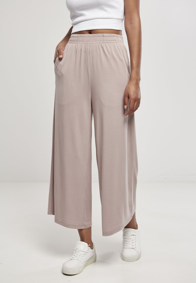 Urban Classics - Spodnie materiałowe - duskrose