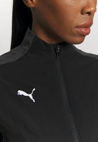 Puma - TEAMGOAL SIDELINE JACKET - Training jacket - black - 4