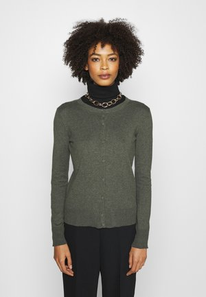 CREW - Cardigan - forest green
