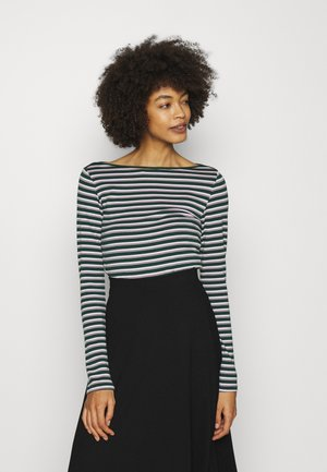 BATEAU - Long sleeved top - green stripe