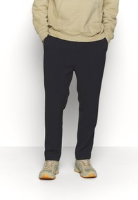Weekday - MARD TROUSERS - Trousers - blue melange - 0