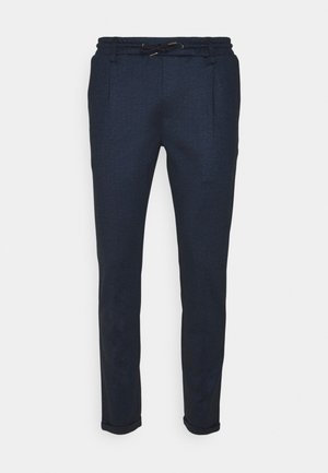 EBERLEIN WITH ROLLED UP - Chino - panemero blue