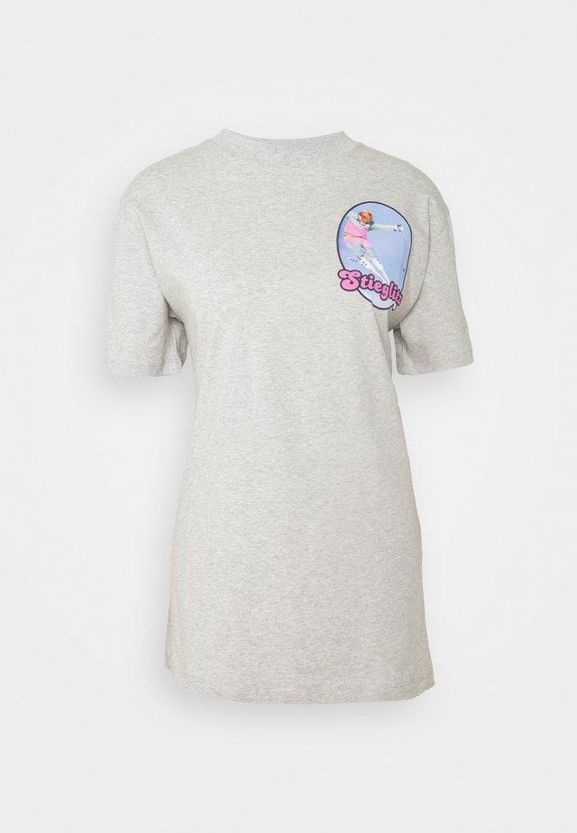 SKI - Print T-shirt - grey