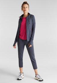 Esprit Sports - Zip-up hoodie - navy - 1