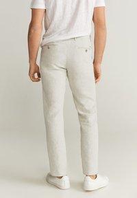 Mango - OYSTER - Pantalon classique - ecru - 2