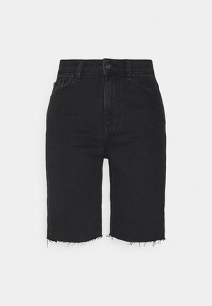 ONLEMILY HWLNG SHORTS  - Jeansshorts - black