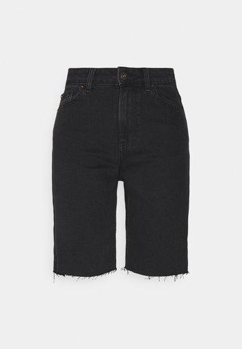 ONLEMILY HWLNG SHORTS  - Denim shorts - black