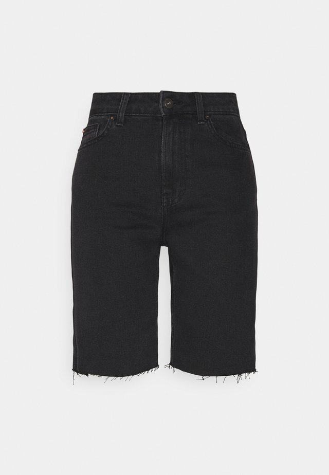 ONLEMILY HWLNG SHORTS  - Jeansshorts - black