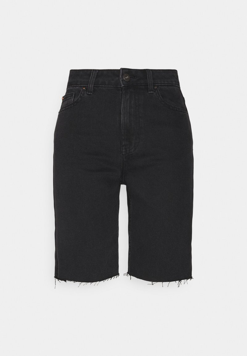 ONLY Petite - ONLEMILY HWLNG SHORTS  - Shorts di jeans - black