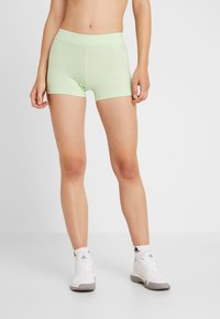 adidas Performance - DRESS SET - Sportovní šaty - black/glow green - 6