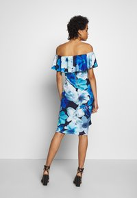 Dorothy Perkins - LUXE FLORAL BARDOT DRESS - Etuikjole - blue - 2