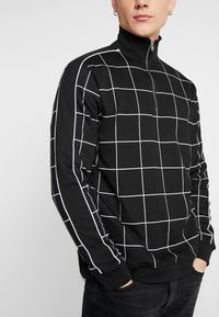Topman - BLACKWINDOW PAIN TRACK TOP - Bluza - black - 3