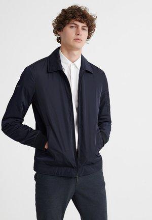 EDIT COLLARED HARRINGTON - Light jacket - eclipse navy