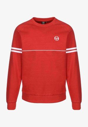 ORION - Sweatshirt - red/white
