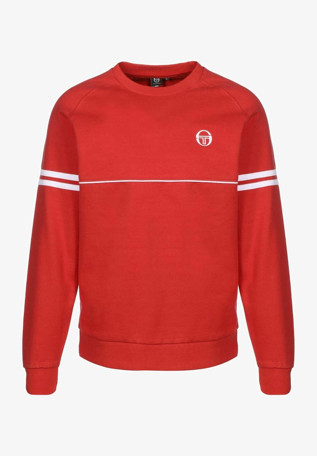 ORION - Sweater - red/white