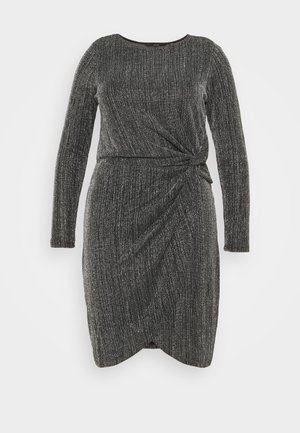 VMKAIDA SHORT DRESS - Robe de soirée - black/silver