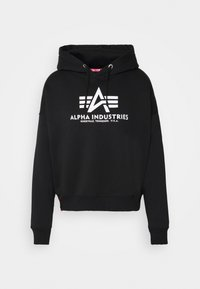 Alpha Industries - BASIC HOODY - Sweatshirt - black - 3