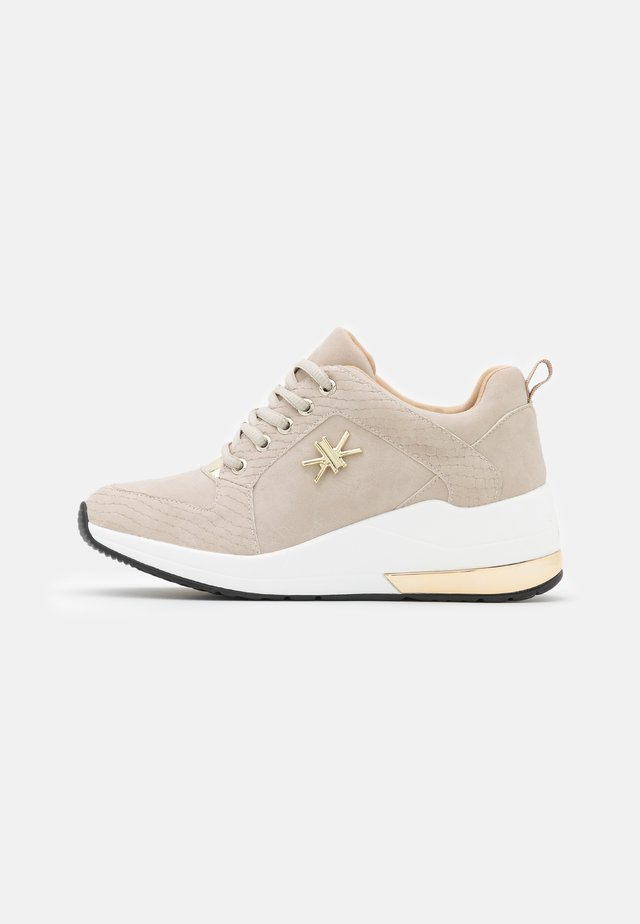 Sneakersy niskie - dubai beige