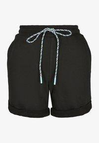 Urban Classics - FRAUEN  - Shorts - black - 5