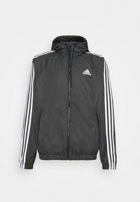 BASIC 3 STRIPES WINDBREAKER - Outdoor jacket - black