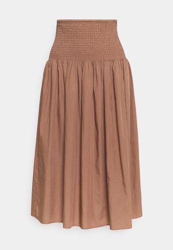 A-line skirt - light brown