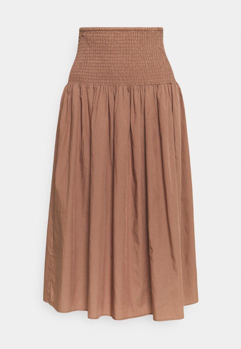 ARKET - A-line skirt - light brown