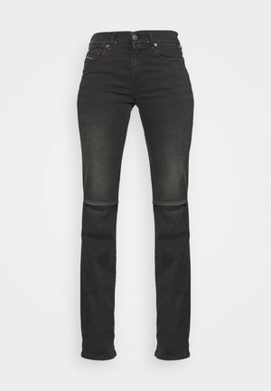 D-SLANDY-BT - Straight leg jeans - grey