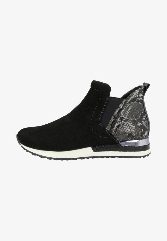 Korte laarzen - schwarz-rauch-black