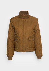 DUVET DREAM JAZZY - Light jacket - breen
